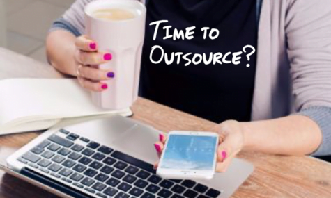 Outsourcing article - Photo featured on Talk19 Media website - A Quality Media & Marketing company; Affordable for Small Business.