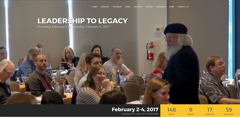 Leadership to Legacy (L2L Summit) - Website design, development, build, maintenance, and hosting by Talk19 Media & Marketing company in Warrenton, Fauquier County, Northern Virginia