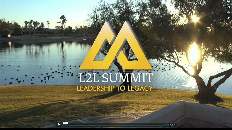 Leadership to Legacy (L2L Summit) - Audio/Video recording, design, editing, and production by Talk19 Media & Marketing company in Warrenton, Fauquier County, Northern Virginia