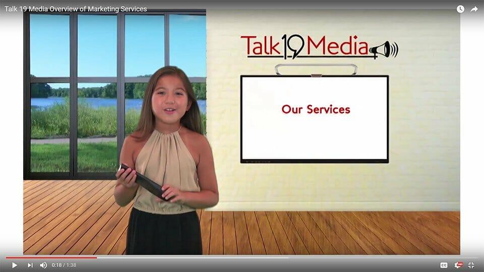 Video production at Talk19 Media & Marketing