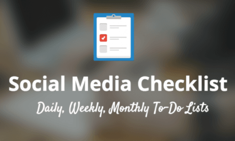 social media checklist article - featured on Talk19 Media website - A Quality Media & Marketing company; Affordable for Small Business