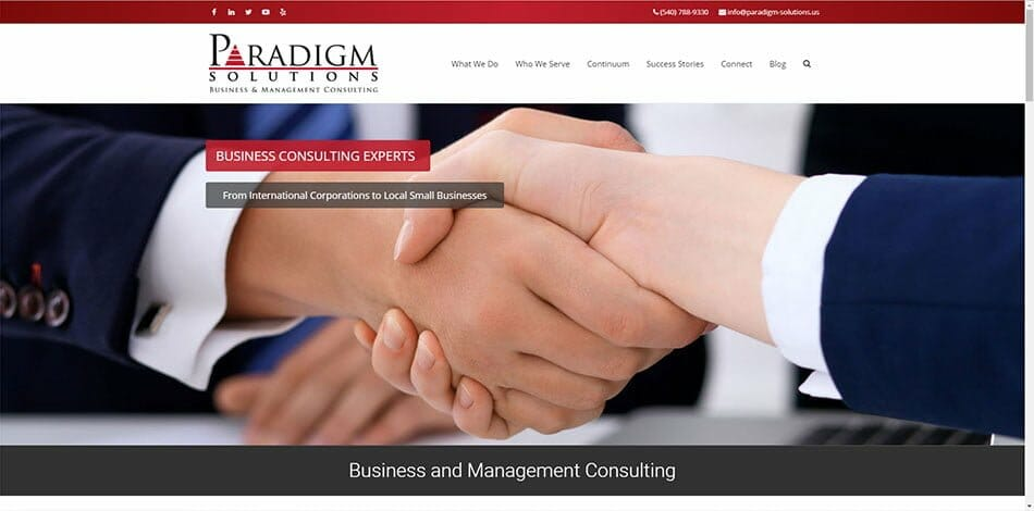 Paradigm Solutions Business Consulting Dennis Taylor Jean Taylor Virginia