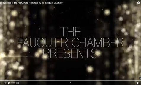 Audio & Video Production, Talk19Media, Fauquier Chamber Awards Gala
