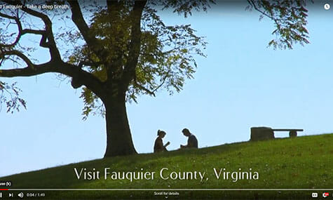 Audio & Video Production, Talk19Media, Fauquier County, Visit Fauquier, Take a deep breath