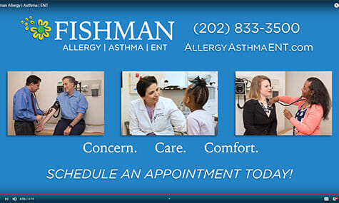 Video: Fishman Allergy Asthma ENT Overview (Best Bark Communications)
