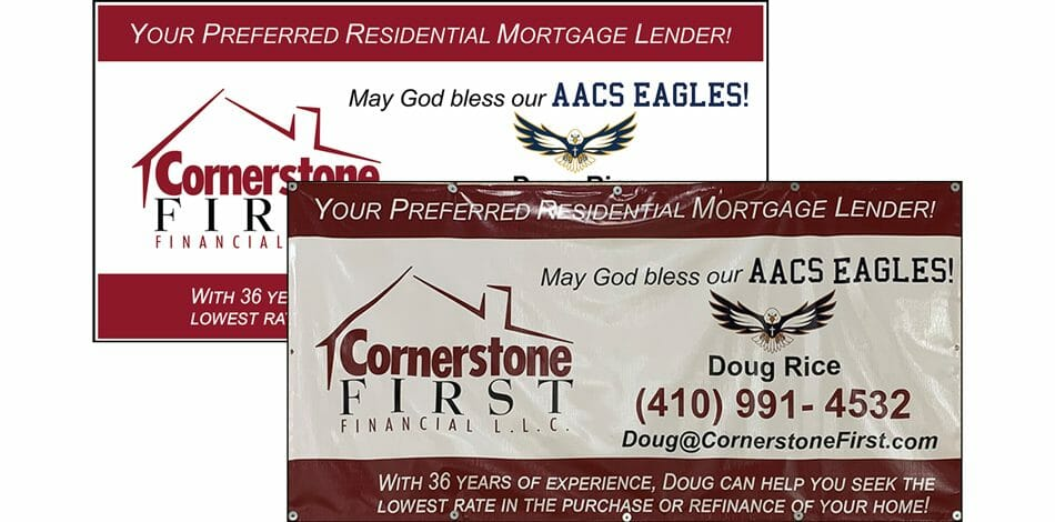 Cornerstone First Financial, Banner AACS 2020