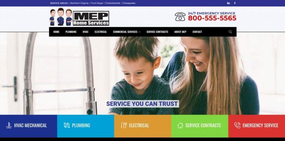 MEP-Website