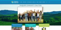 Fauquier Community Coalition - Website design, development, build, maintenance, and hosting by Talk19 Media & Marketing company in Warrenton, Fauquier County, Northern Virginia